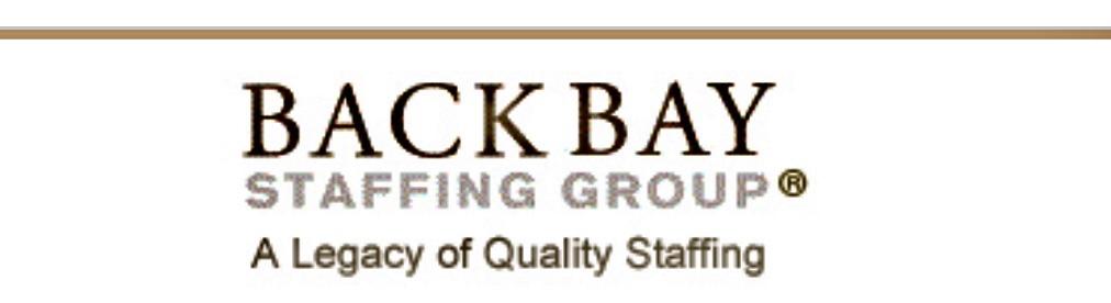 Logo for Back Bay Staffing Solutions
