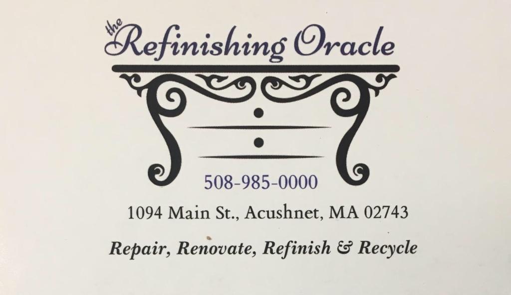 The Refinishing Oracle logo